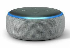 NEW Amazon Echo Dot 3rd Generation w/ Alexa Voice Media Device -Gray