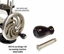Singer 20 toy child Sewhandy sewing machine BLACK KNOB & SHOULDER SCREW