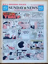 New York Sunday News - 6 page color comic section - Dick Tracy - Jan. 3, 1971