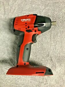 "HILTI SIW 6 AT-A22 Impact Driver - 22 volt -1/2"" - Brand New - Tool Only"