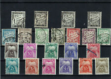 Lot  1139 Timbres taxe France 1881 1946 COTE 73.5€