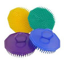 Diane Handheld Shampoo Massage Brush Colors Yellow