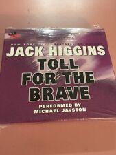 jack higgins toll for the brave cd