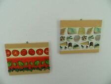 Verkaufe zwei Bilder mit verschiedenen Motiven für Küche geeignet