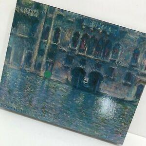 VTG Springbok Puzzle Monet Palazzo Da Mula Venice 1971 #4028 450 Pcs 17.5x23.5