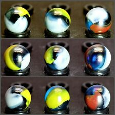 """1 Blue Macaw Marble by Mega Vacor 0.63/"""" //"""