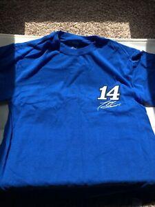 Nascar T Shirt Tony Stewart  Size Large 100% Cotton