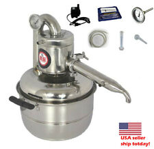 2 GaL 10L Alcohol Distiller stainless steel wine brewing machine &Pump us seller