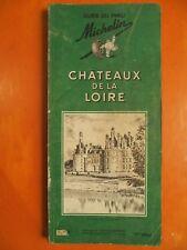 Châteaux de la Loire Guide du pneu Michelin 1963