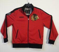 Chicago Blackhawks Authentic Okd CCM Mens Medium Jacket Stanley Cup Champions