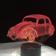 New Colour Changing VW beetle Car LED NightLight volkswagen DUB Remote control