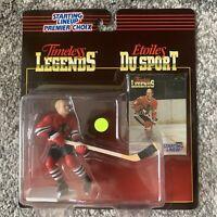 NIB 1995 Kenner Starting Lineup NHL Chicago Blackhawks Bobby Hull Hockey Toy