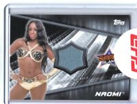 WWE Naomi 2016 Topps Divas Revolution Event Used Mat Relic Card SN 122 of 199