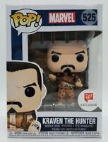 Funko Pop! Marvel #525 Walgreens Exclusive Kraven The Hunter + Protector Damaged