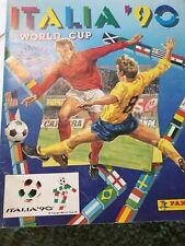 Panini WM 90 Sammelalbum WC 1990, Album mit 263 Stickern, Stickeralbum