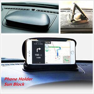 Car Dashboard Anti-Slip Silicone mobile phone  Holder Mount Bracket sun block