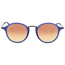 Ray Ban Round Copper Gradient Flash Sunglasses