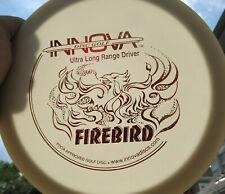 Disc Golf Innova Dx Rare Bar Stamp Firebird Ultra Long Range Driver 170g White