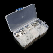 120Pcs 2.8/4.8/6.3mm Crimp Insulating Terminal Female Spade Connector Sleeve Kit