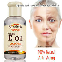 100% Natural Organic Vitamin E Pure Jojoba Oil Essential Oil Anti Aging Wrinkles
