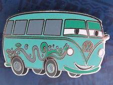 Disney Hippie Fillmore VW Van Volkswagon Pixar Cars Kitsch Booster Trading Pin