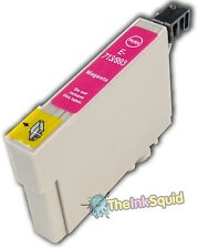 Magenta/Red T0713 Cheetah Ink Cartridge non-oem fits Epson Stylus SX510W SX515W