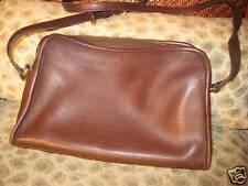 Authentic Coach Purse No. FON-9814, Brown Soft Leather