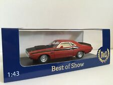 Dodge Challenger R/T 340 Six Pack 1970 Red  Bos 1/43