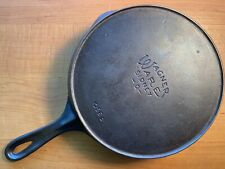 ANTIQUE WAGNER WARE 1056D Heat Ring #6 CAST IRON Pan Skillet FULLY RESTORED