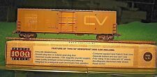 HO Proto 1000 50' Newsprint Box Car CV Central Vermont Detailed yellow door OB