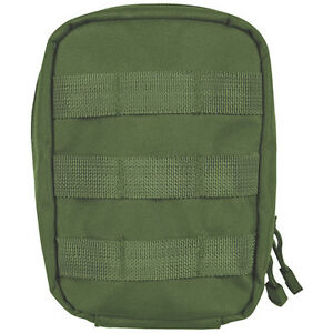 Tactical 1st Aid Gear Soldiers Medic IFAK Trauma Kit Large MOLLE Pouch OD GREEN