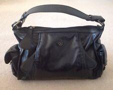 Francesco Biasia Black Leather handbag - never used