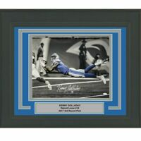 FRAMED Autographed/Signed KENNY GOLLADAY Detroit Lions 16x20 Photo JSA COA Auto