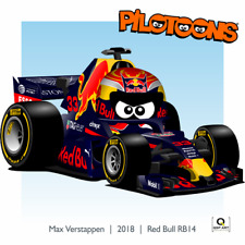 Print on Canvas Red Bull RB14 #33 Max Verstappen (NED) by BM