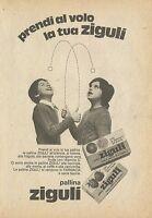 X4961 Prendi al volo la tua pallina ZIGULI - Pubblicità 1974 - Advertising