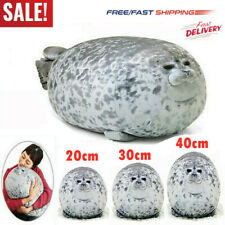 40CM Chubby Blob Seal Plush Pillow Animal Toy Cute Ocean Animal Stuffed Doll RP