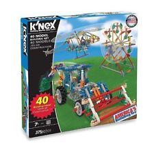 K'Nex 40 Model Building Set 375Pc Creative Building Toy Child