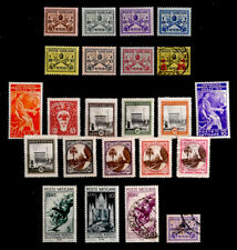 VATICAN CITY: CLASSIC ERA STAMP COLLECTION MOSTLY UNUSED