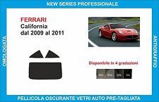 pellicole oscuranti vetri Ferrari california dal 2009-2011 kit posteriore