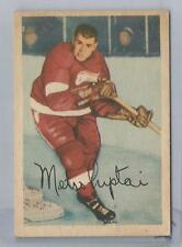 1953-54 Parkhurst Hockey Metro Prystai Card # 42 Excellent Condition