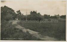 The Common, West Moors Dorset Dearden & Wade W.508 RP Postcard, C056