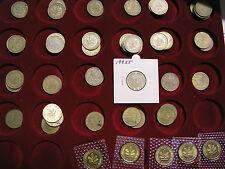 10 Pfennig 10Pf coins Coin 1950-2001 BRD German coins Choice ADFGJ Mint
