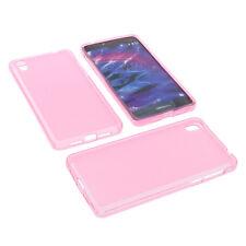 Tasche für MEDION Life X5020 Handytasche Smartphone Schutzhülle TPU Gummi Pink