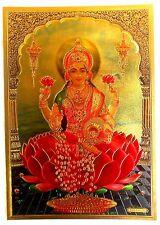 BILD  A 4 Indien  LAXMI Lakshmi Kunststoff Vorlage  sehr edel (50