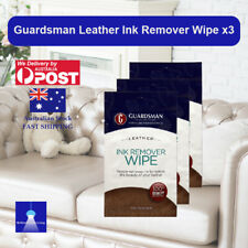 Guardsman Leather Ink Remover Wipe X3 Removes Ink Stains Restore Beauty