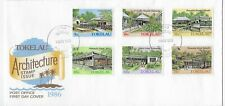 L4562 TOKELAU FIRST DAY COVER FDC ARCHITECTURE 1986