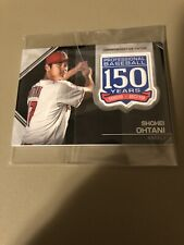 2019 Topps 150 Years Commemorative Patch Shohei Ohtani