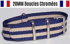 NATO ★ 20MM ★ N°36 ★ Bracelet montre Watch Band Strap Nylon Military Army 007