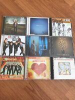 Pop Rock The Fray /Matchbox 20 /Boys Like Girls /The Send /NSYNC Lot Of 9 CDs