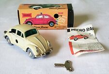 Schuco Lilliput Toy Germany Wind-Up VOLKSWAGEN MICRO RACER NO. 1046 V RARE MIB